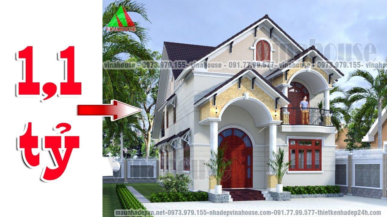 Mẫu biệt thự mini 2 tầng kiến trúc tân cổ điển (8,5m x 17m) đẹp lộng lẫy lung linh luôn!