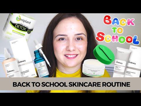 Back to school Skincare routine - Îngrijirea tenului în timpul facultații   Debora Tentiș thumbnail