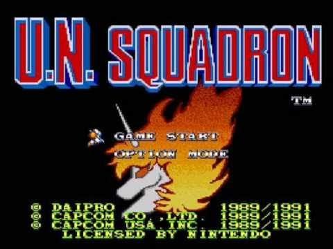 Taylor T  Carlson reviews UN Squadron for the Super Nintendo!