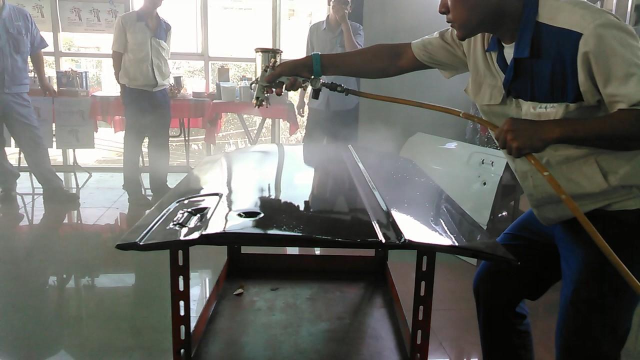 DeVilbiss manufactures spray gun and finishing equipment