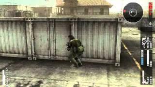 PSP Metal Gear Solid Peace Walker Gameplay