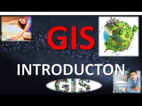 INTRODUCTON TO GIS (IN HINDI)