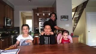 Vlog: decorating gingerbread house with my children/ meet my children/ fun/ family / sisterlocks