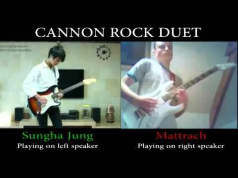 Canon Rock Duet - Sungha Jung VS Mattrach.wmv