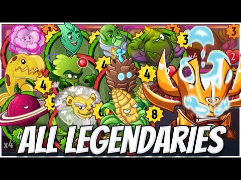 ALL Legendary Cards Challenge - Captain Combustible Deck   Plants vs Zombies Heroes Gameplay (18/22)