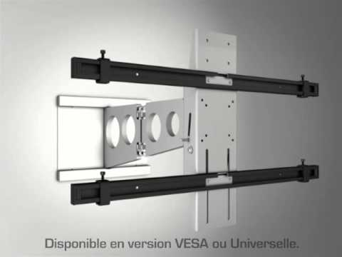 pr sentation du support tv mural multibrackets tilt youtube. Black Bedroom Furniture Sets. Home Design Ideas