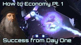 ^Stellaris^ - BEST Empire Start Strategy   The ESSENTIAL Economy Guide Pt. 1   Stellaris 2.3 Wolfe