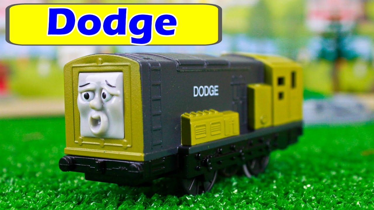 THOMAS AND FRIENDS TOMY TRACKMASTER DODGE