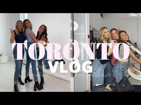 TORONTO VLOG: Topshop Photoshoot, Girls Night and Meet-up! | Emma Rose