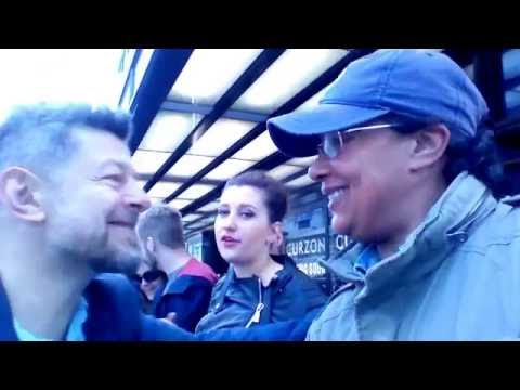 Andy Serkis & Dixie