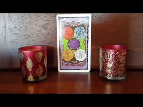 Sacred Rose Tarot ~ the story behind this deck ~ a glimpse in to the majors
