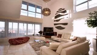 Interior Design Living Room High Ceiling