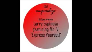 Mr. V, Larry Espinosa - Express Yourself (Original Mix)