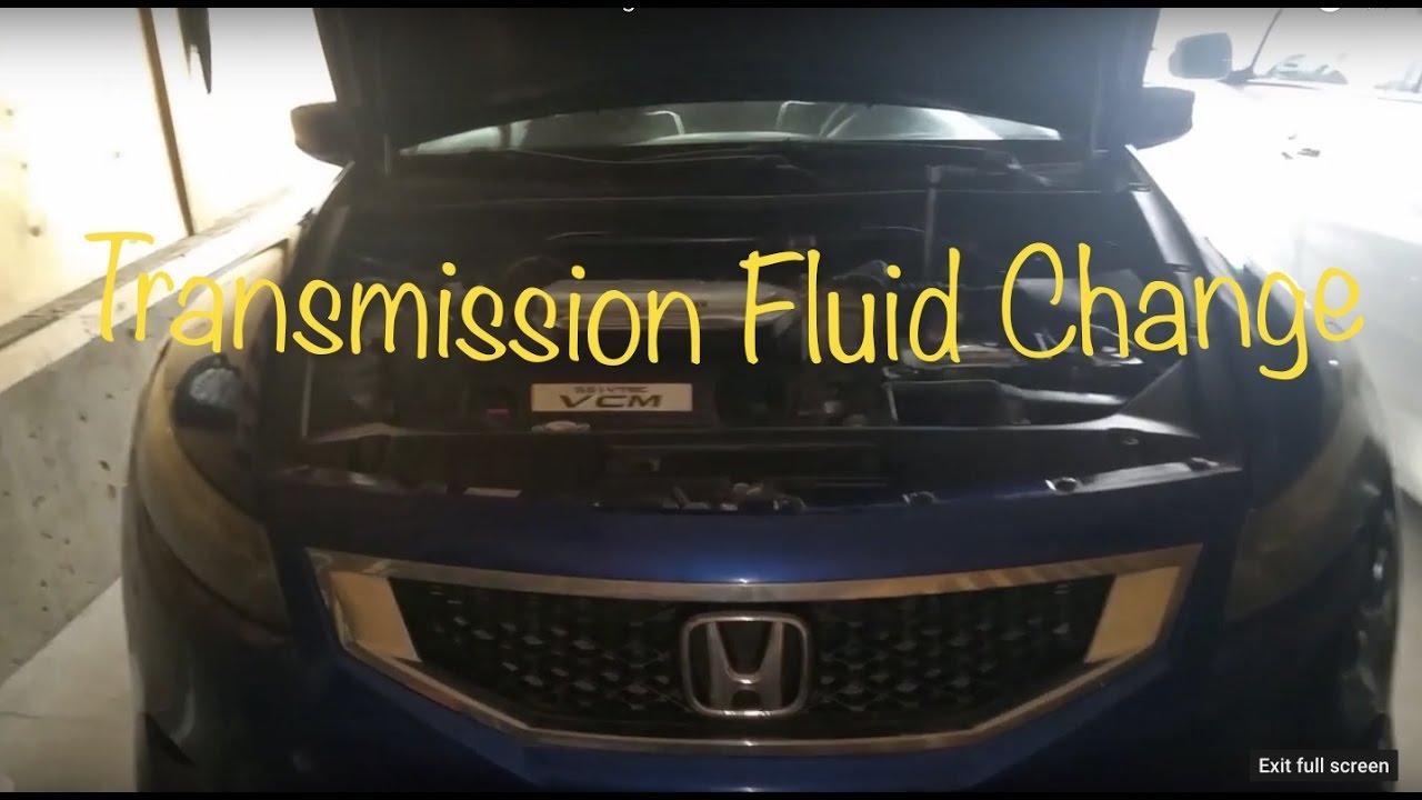 2008 Honda Accord V6 Transmission Filter Change Automatic