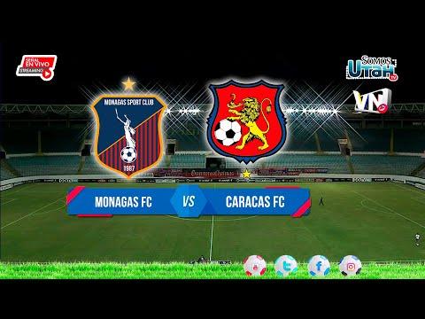 En Vivo - Monagas FC vs Caracas FC - Liga Futve  2021