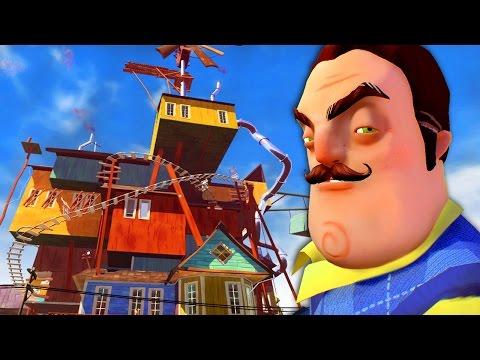 Смотреть мультфильм привет сосед альфа 4