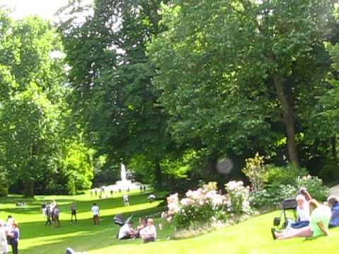 visite des jardins du palais de l'élysée