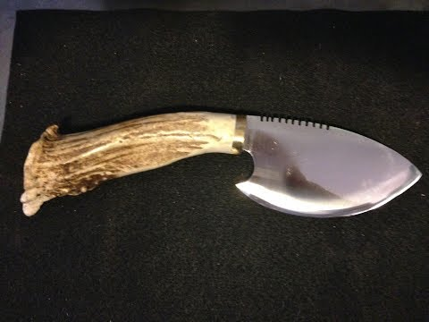 Skinner Knife For The Moose Hunt