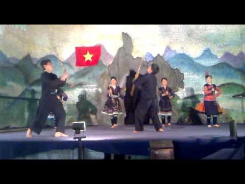 điệu múa dân tộc Dao-Sapa
