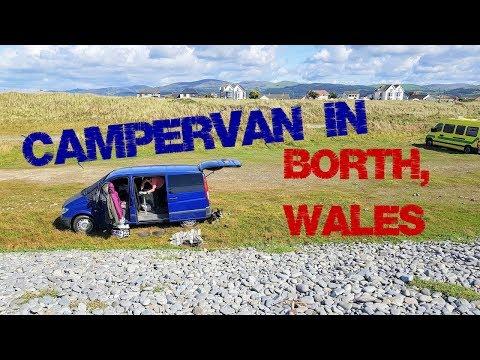 Mercedes Vito Campervan in  Borth, Wales | The Carpenter's Daughter