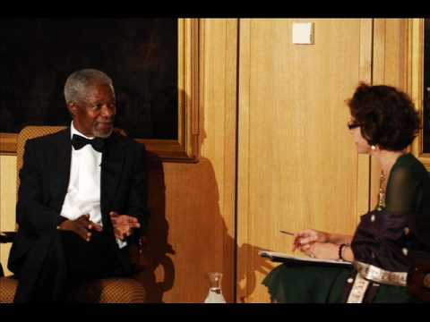 Kofi Annan reflects on life growing up in Ghana