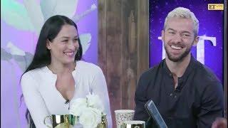 Nikki Bella & Artem Chigvintsev ET Facebook Live