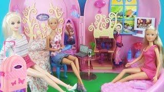 Домик – чемодан для кукол. Мультик, игры для детей (Барби, Штеффи) Обзор игрового набора Dolls House(Домик для Барби, Штеффи, Братс и других кукол до 29 см. Сегодня мы рассмотрим игровой набор Домик-чемодан..., 2015-12-17T07:00:00.000Z)