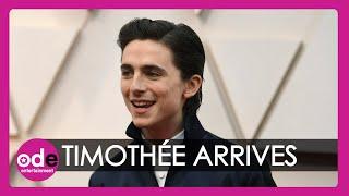 Timothée Chalamet and Billie Eilish own the Vanity Fair Oscar Party red carpet