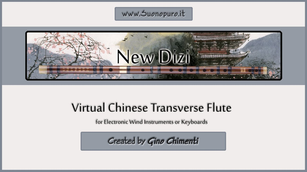 Virtual Chinese Transverse Flute Dizi for Kontakt