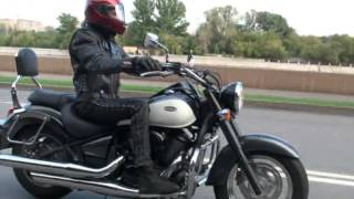 Kawasaki vn900 Vulcan: звук, спокойная езда, хорошая музыка