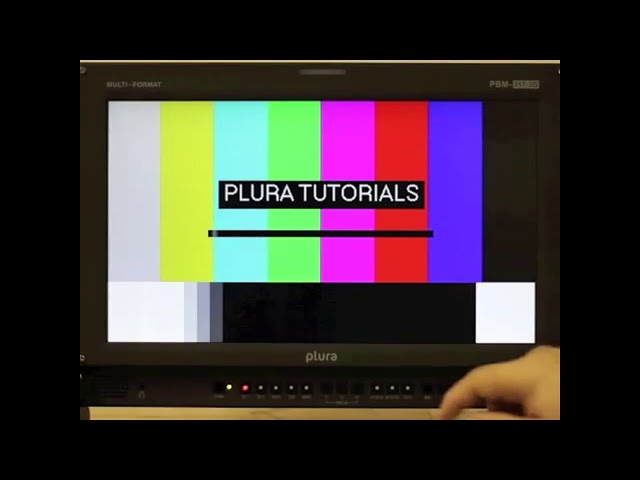 PLURA Tutorials: Turn Dual Link Off on a PBM Monitor