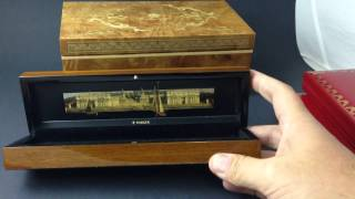 Luxury Writing Instrument Boxes - Montegrappa, Cartier, Mont Blanc, St Dupont