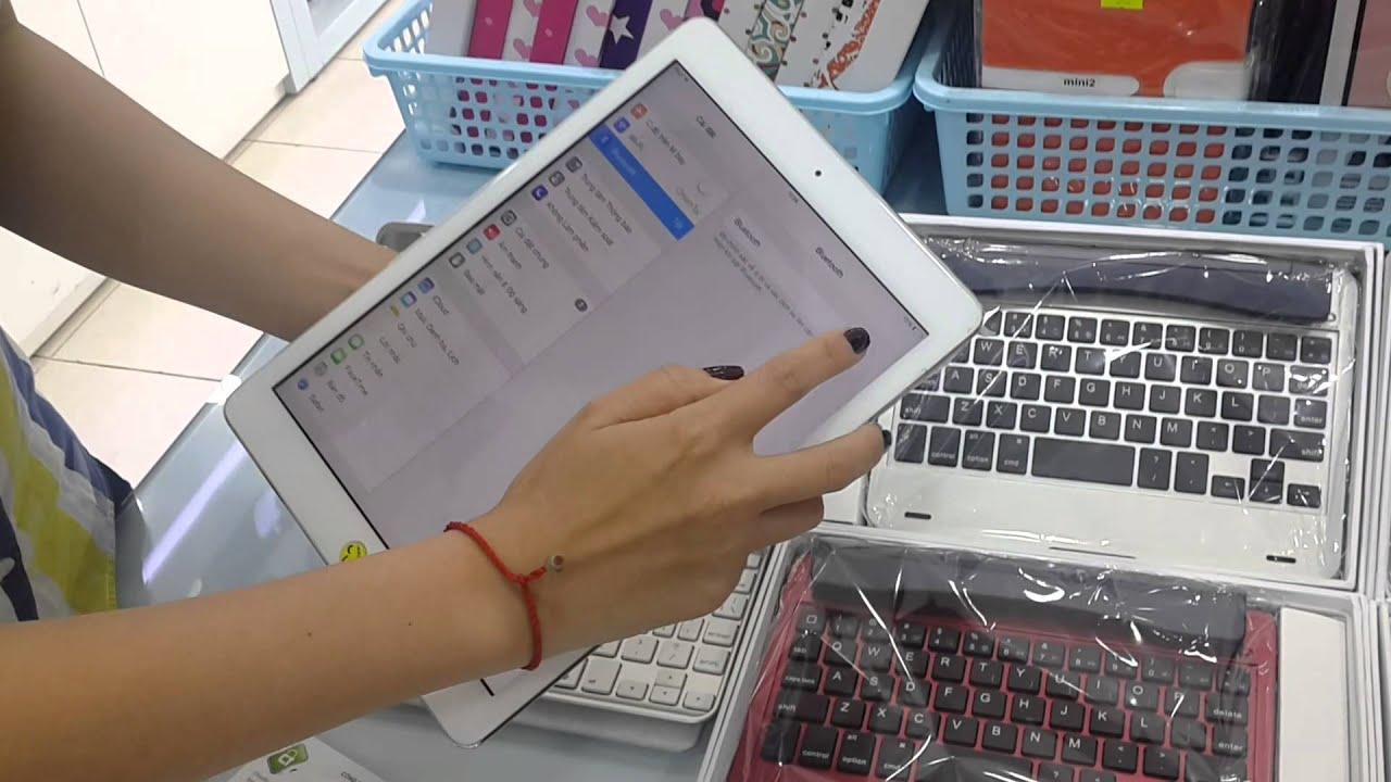 Review bàn phím bluetooth iPad mini, F85, F12, 360 độ – Chiếm Tài Mobile