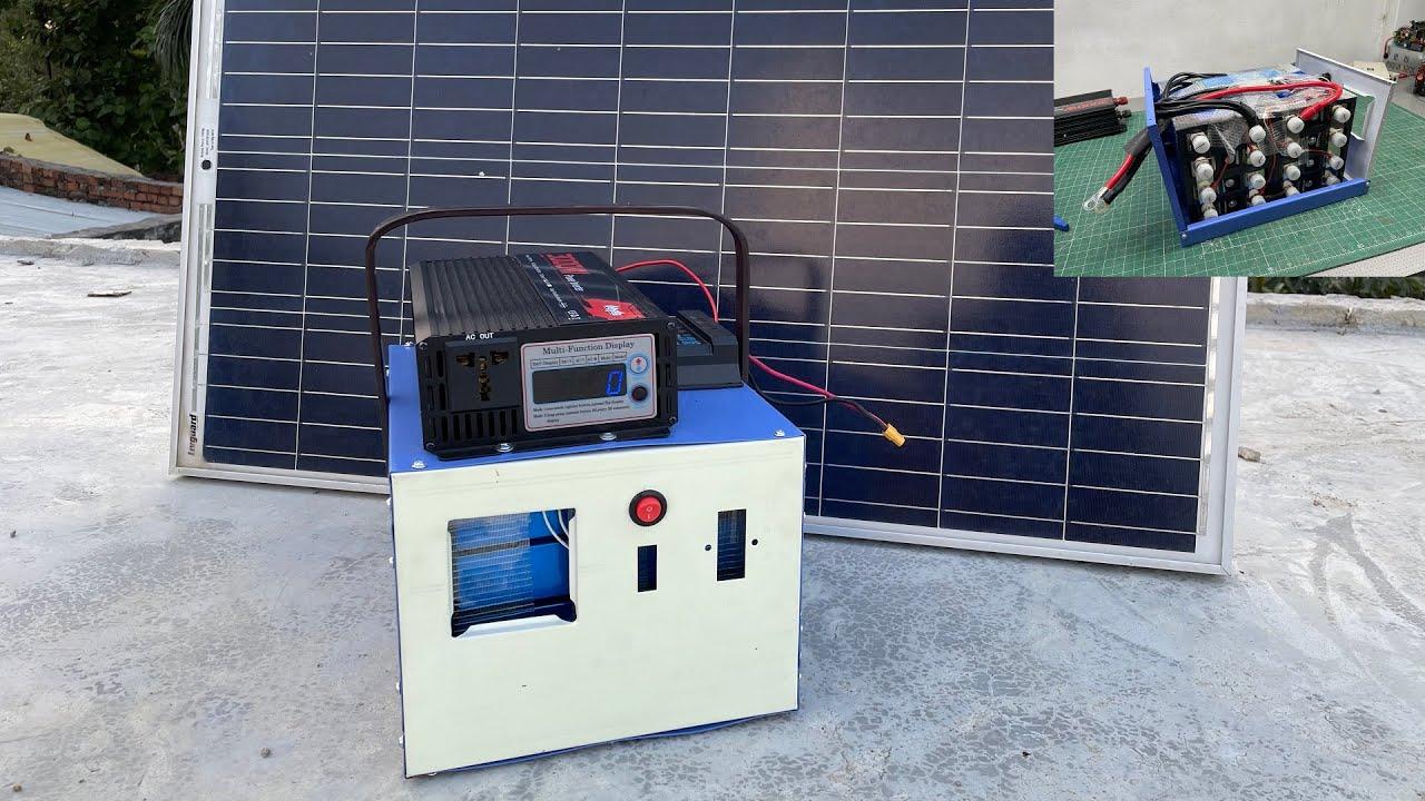 DIY Solar Generator | Portable Solar Power Station