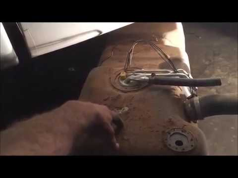 1998 Chevy 1500 Fuel Pump Replacement  YouTube