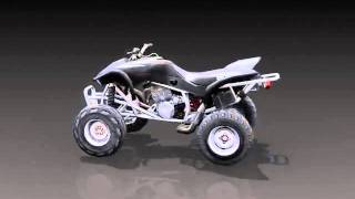 Honda ATV Fever Final Bike Renders