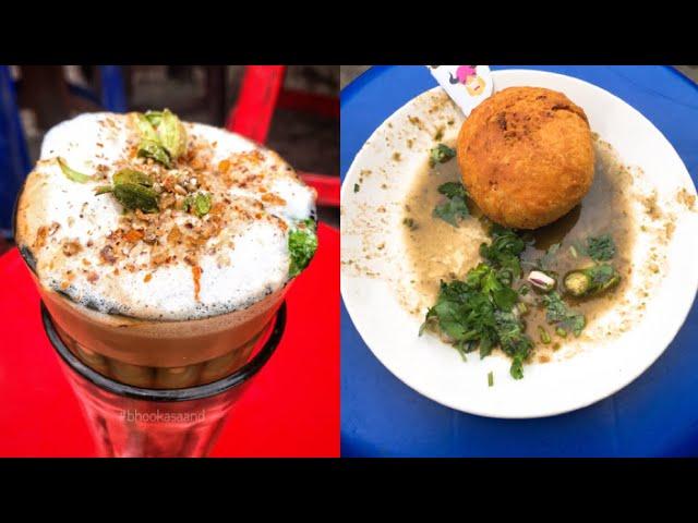 Amritsar ki famous Badam pista chai and Kachori