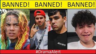 NELK BANNED , 6ix9ine BANNED , Jarvis BANNED , Leafy BANNED! #DramaAlert -  KSI vs Jake Paul!