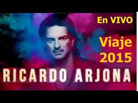 Concierto en Vivo, Viaje 2015, Ricardo Arjona, mp4