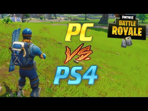 Beating PC Players with a PS4 Controller.. Fortnite!