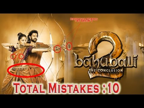 10 Major Mistakes From Baahubali 2 The Conclusion Movie Official Trailer(Hindi) | Prabhas |
