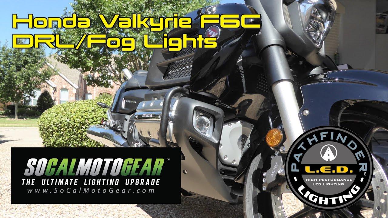 Install Socalmotogear Rectangular Led Fog Lights On Valkyrie F6c Wiring Motorcycle