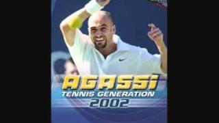 Agassi Tennis Generation 2002 - Soundtrack - Menu