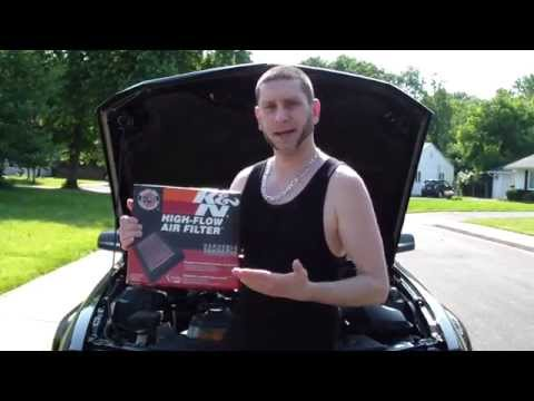 italian-joey-mamaluke-how-to-install-change-replace-k&n-air-filter-on-car-review-diy