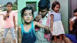 Thaniyuha vs jiya kutty tiktok Video's collection | beautiful acting in two babies tik tok Video's.