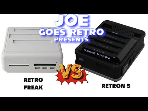 Hyperkin Retron 5 Vs. CYBER Gadget Retro Freak - Console Comparison - Joe Goes Retro