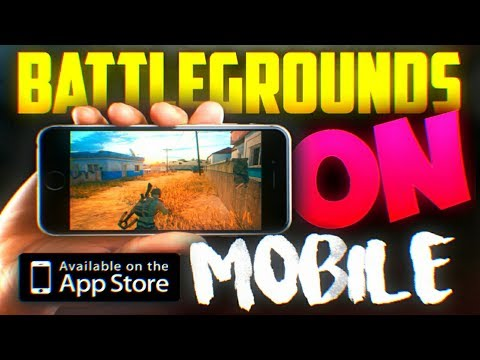PUBG ON MY PHONE!!! - Official Mobile Game Walkthrough - Player Unknown Battlegrounds