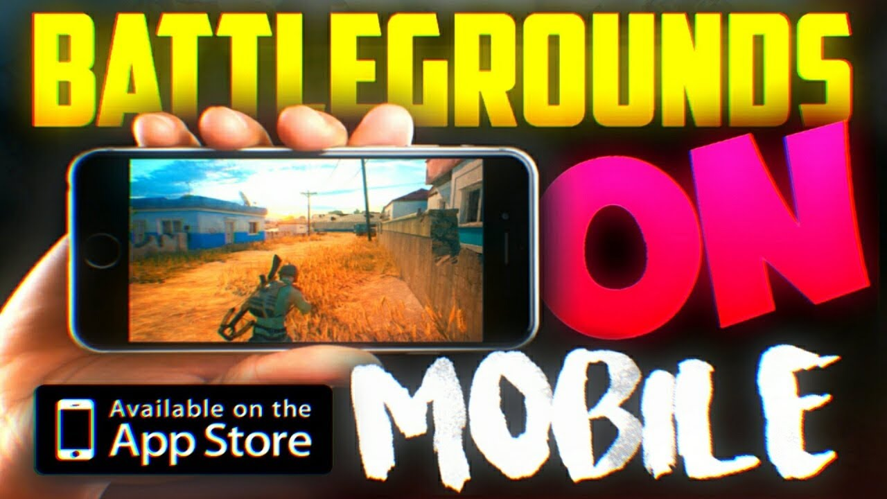 Pubg On My Phone Official Mobile Game Walkthrough Player