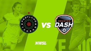 Portland Thorns vs Houston Dash full match