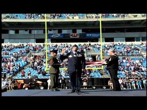 2010 Reenlistment at Bank of America Stadium